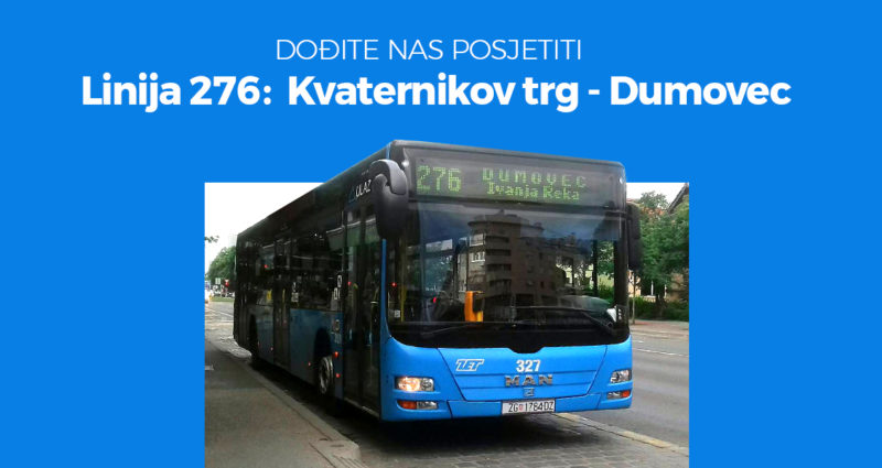 Sad još lakše možete doći do nas – autobusom 🚌